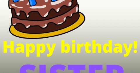 बहन के लिए जन्मदिन की बधाई : Birthday Wishes In Hindi For Sister
