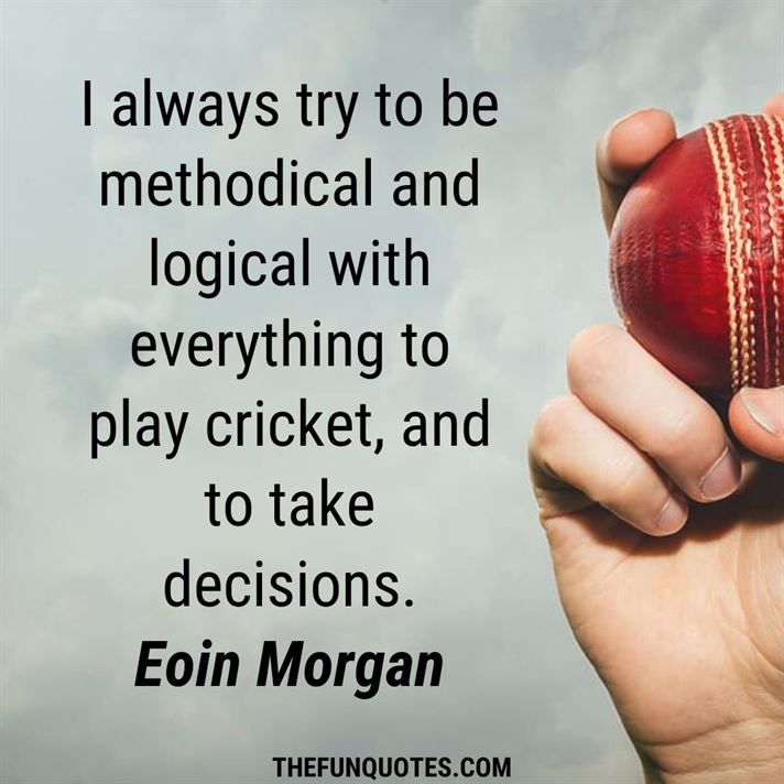 30 Best Motivational Cricket Quotes with Images | Cricket quotes ideas | Cricket Quotes | 35+ Inspirational Cricket Quotes | Famous Cricket Quotes - THEFUNQUOTES
