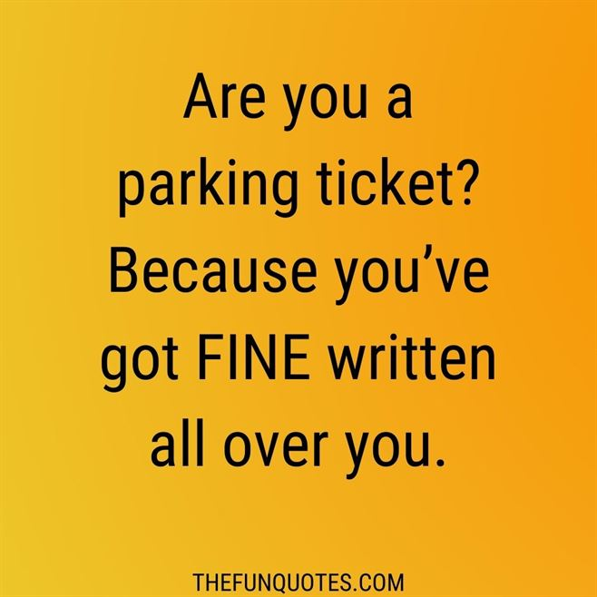 40 BEST PICK-UP LINES EVER