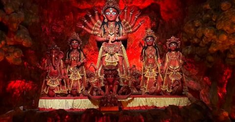 Durga Puja 2021 : Quotes and Wishes | Best Durga Puja Greetings in Hindi English and Bengali | Happy Durga Puja 2021 Messages