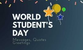 International Students' Day 2021 : 20+  Quotes,Messages & Greetings   Great Success Quotes   Students day quotes