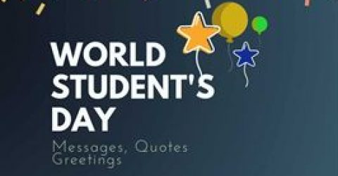 International Students' Day 2021 : 20+  Quotes,Messages & Greetings | Great Success Quotes | Students day quotes