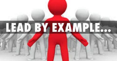 Lead By Example Quotes : 15 Lead By Example Quotes to Read | Lead by example quotes and ideas | thefunquotes.com