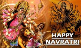 Happy Navratri Quotes in hindi 2021 | Happy Navratri Wishes Quotes and Messages | 20 Navratri ideas | thefunquotes.com