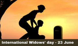 International Widows Day Messages Quotes and Greetings | International Widows' Day 2021 Quotes | Happy International Widows Day 2021 SMS, Sayings and Quotes | thefunquotes.com
