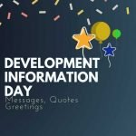 Quotes on World Development Information Day With images | World Development Information Day | World Development Information Day 2021 Theme and Quotes | thefunquotes.com