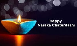 Happy Narak Chaturdashi Quotes Wishes and Images | Happy Narak Chaturdashi 2021: Quotes, Wishes, Message | Narak Chaturdashi SMS In Hindi | thefunquotes.com