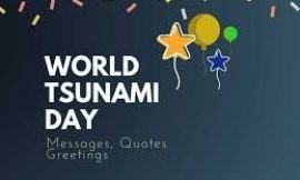 World Tsunami Day: 25+ Best Messages Quotes & Greetings | World Tsunami Awareness Day Quotes | World Tsunami Awareness Day 2021 Quotes | Tsunami Quotes | thefunquotes.com