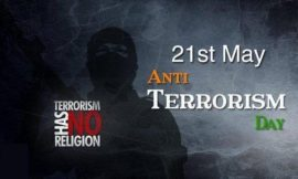 National anti terrorism day quotes & images 2021 | Anti Terrorism Day 2021: Date History Significance And All | National anti terrorism day | thefunquotes.com