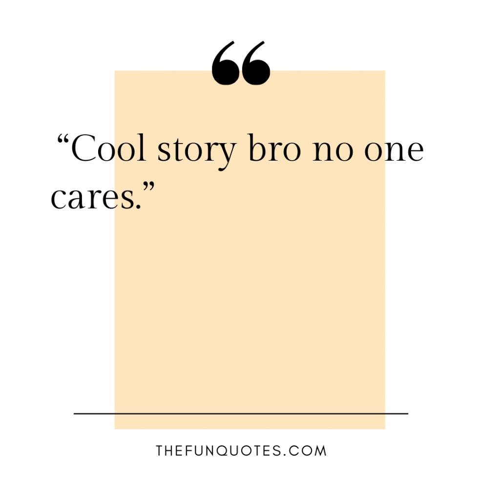 no one cares until you're dead quotes