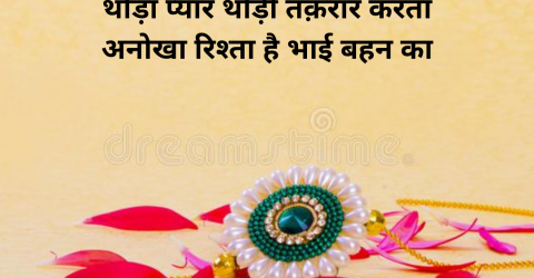 happy rakhi quotes for brother in hindi 2021